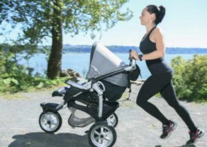 compact jogging strollers
