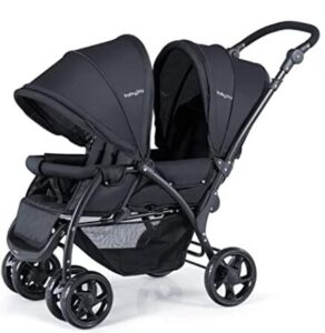 compact double stroller