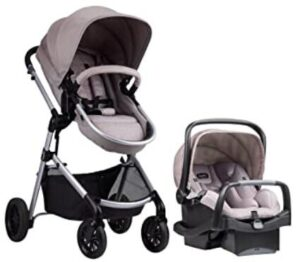 incline stroller with car seat combo