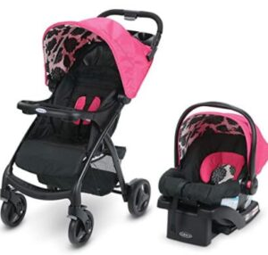 car seat and lightweight stroller combo