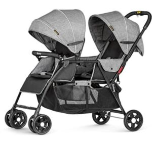 compact double stroller reviews