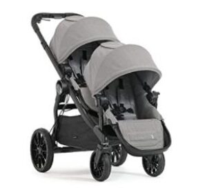 double stroller with lightweight design