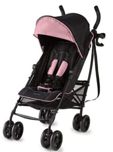 compact lightweight baby stroller with large storage bag