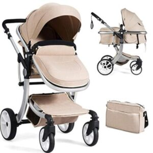 bassinet with stroller combo
