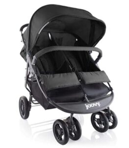 foldable double stroller with bassinet options