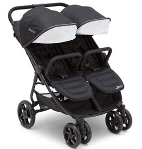 side by side double stroller with canopy