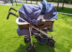 bassinet strollers for twins